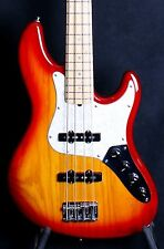 2006 60th ANNIVERSARY FENDER AMERICAN DELUXE JAZZ BASS CHERRY SUBURST ASH BODY