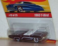 Hot Wheels Classics Series 1  1963 T-Bird Ford #13/ 25 Color DK Purple Variation