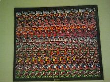 Poster 3D Image Stereogram Illusion Soccer Players Lion Animal Sports Magic Eye