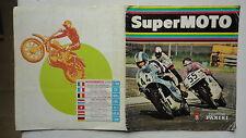 ALBUM PANINI SUPER MOTO MANQUE 1 IMAGE PRESQUE COMPLET 1975