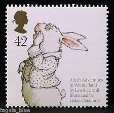 """Alice`s Adventureas in Wonderland"" illustrated on 2006 Stamp - Unmounted Mint"