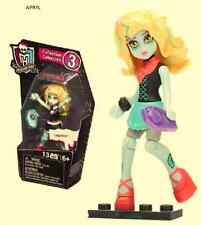 Monster High Mega Bloks Lagoona Blue Figure 9 Pieces New in Package 2LC06