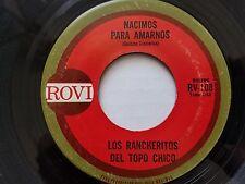 LOS RANCHERITOS del TOPO CHICO - Nacimos Para Amarnos / Pinta Tu Raya RANCHERA