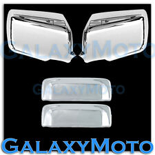 06-11 FORD RANGER Triple Chrome Plated Mirror+2 Door Handle Cover Combo Kit