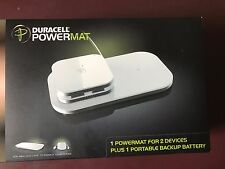 Duracell PowerMat Portable Charger Set - Extend Phone Tablet Battery Life - New
