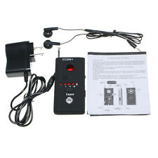 RF Bug Signal Anti-Spy Detector Hidden Camera Lens Laser GSM Device Finder CC308