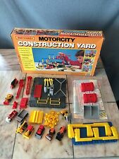 Matchbox Motorcity 620 Construction Yard Set Vintage Mint Boxed HO Convoy Semi