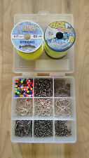 Sea Fishing Tackle Set-Makes up to 100+Rigs Swivels Beads BAITHOLDER with line