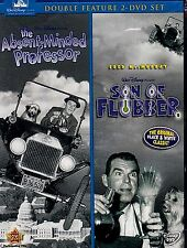 NEW DVD // DISNEY CLASSIC DOUBLE FEATURE / THE ABSENT MINDED PROFESSOR + FLUBBER