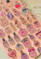 Perfume 3D Gel Sparking stickers French Fragrance Girly Scrapbook Cardmaking diy