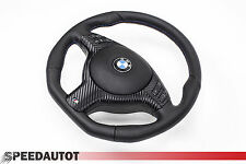 MESSA PUNTO M3 M5 Volante in pelle+Airbag BMW E39 E46 M3 M5 X5 INFERIORE PIATTO