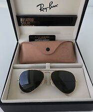 Ray Ban Solid Gold 18-Karat Aviator Sonnenbrille Glasses Limited Edition