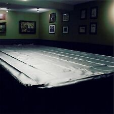 SPARTAN Heavy Duty Water Resistant Snooker Table Cover - 10FT BLACK