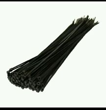 Cable Ties 240mm x 4.8mm in Black.( Pack of 200) free delivery.