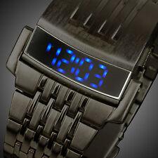 INFANTRY Herrenuhr Digitaluhr Armbanduhr Uhr LED Datum Zeiger Leuchtend lässig