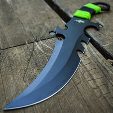 """10"""" FULL TANG Fantasy Claw FIXED BLADE KNIFE Hunting Bowie Dagger Sword"""