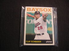 (10) 2013 TOPPS HERITAGE MINOR #47 CLAY SCHRADER CARD LOT  BOWIE BAYSOX