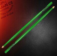 Zildjian 5ACWDGG 5A Acorn Dayglo Green FREE U.S. Shipping Glow Neon Green