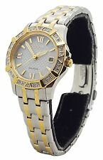 Citizen Eco Drive EW2364-50A Ladies Stainles Two Tone Diamond Accent 26mm Watch