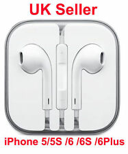 New EarPod Headphone for Apple iPhone 5/5s/SE/6/6s With Mic-UK Seller