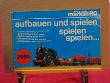 VINTAGE MARKLIN HO MANUAL 2950 WEST GERMANY