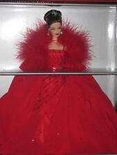MATTEL BARBIE 2000 Ferrari Doll Red Gown Limited Edition NRFB MINT BOX