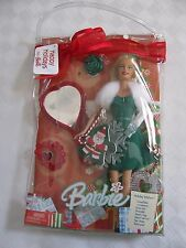 NIB BARBIE DOLL 2005 HAPPY HOLIDAY WISHES GIFT SET NIB NRFB