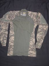 MASSIF GEAR SHIRT COMBAT EXTRA SMALL NEW wot MADE USA MILITARY ACU DIGITAL CAMO