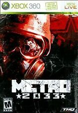 Metro 2033 GAME Microsoft Xbox 360 33 2K33