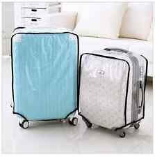 20 24 26 28 Luggage suitcase case cover waterproof protector clear gift traveler