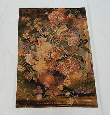 Vintage Chinese Beautiful Flowers Scene Tapestry with Certificate 90x65cm T376