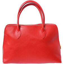 Shoulder Bag Italian Genuine Leather Hand made in Italy Florence 308 lr