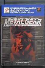JAPAN Tactical Espionnage Action Metal Gear Solid Official Guide (Book)