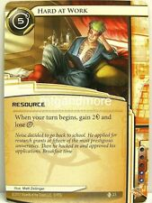 Android Netrunner LCG - 1x hard at work #023 - Second Thoughts