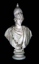 "Athena Minerva Giustinia Greek Roman bust 45"" Museum Sculpture Reproduction"