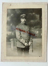 PHOTO MILITAIRE ARMEE COMMANDANT OFFICIER 98 au col N392