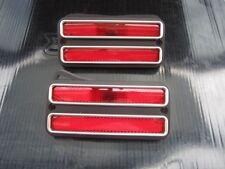 SIDE MARKER LIGHTS CHEVROLET TRUCK 1968 1969 1970 1971 1972 2 PC SET RED
