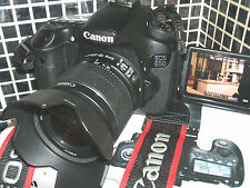 Canon EOS 60D 18.0 MP Digital SLR CAMERA THREE LENS Kit w/ EF-S IS II 18-55mm...