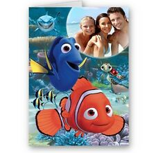 Personalised Photo Finding Nemo, Dory, Happy Birthday, Christmas A5 Card