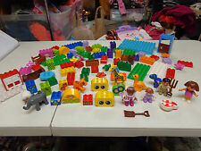 LEGO LEGOS DUPLO  DUPLOS  80  PLUS      MANY SPECIALTY PIECES    BIG LOT!!