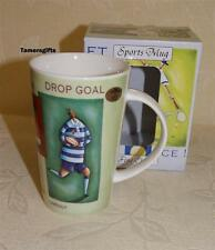 FINE CHINA LATTE SPORTS MUG BOXED RUGBY FAN GIFT SET