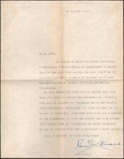 Paul Eluard. P.S. Librairie France-URSS. 30 août 1951