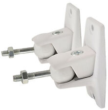 Adastra Universal speaker bracket white surround sound system wall mounted PAIR