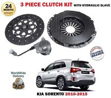 FOR KIA SORENTO 2.2 CRDi 2010- NEW CLUTCH KIT PLATE COVER + CONCENTRIC SLAVE