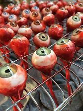 *ONE PAIR* Bloody Ripped Out Eye Haunted House/ Horror Prop/ Decoration Severed