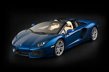 Pocher Lamborghini Aventador LP 700-4 Roadster Blue 1:8 Model Kit HK103*Nice!