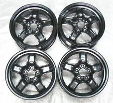 VAUXHALL VECTRA C 16 INCH 5 BOLT STEEL WINTER / SNOW WHEELS X4 GENUINE NEW