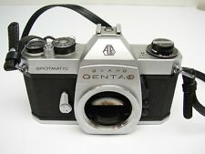 Vintage Pentax Asahi Spotmatic SP2 SPII SP 2 II Camera Body Strap & Case