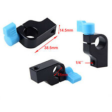 "1/4"" Clamp Clip Block Holder For 15Mm Rail Rod Support System For Magic Arm BE"