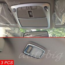 Reading Light Cover FOR Nissan Rogue X-Trail T32 2014-2016 Chrome Roof Switch